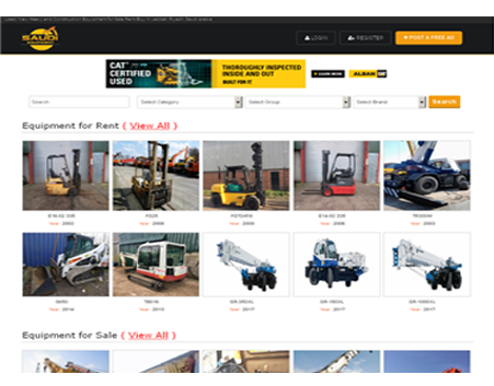 Saudi-Equipment.com : (Heavy Equipment Classified Website)