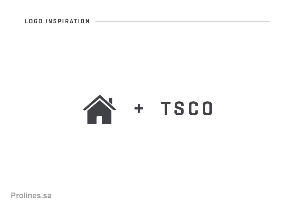 TSCO - Saudi Construction Company Branding - Prolines